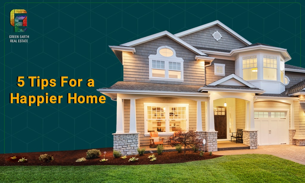 tips to make your home happier