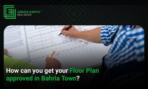 get floor plan approved in Bahria Town