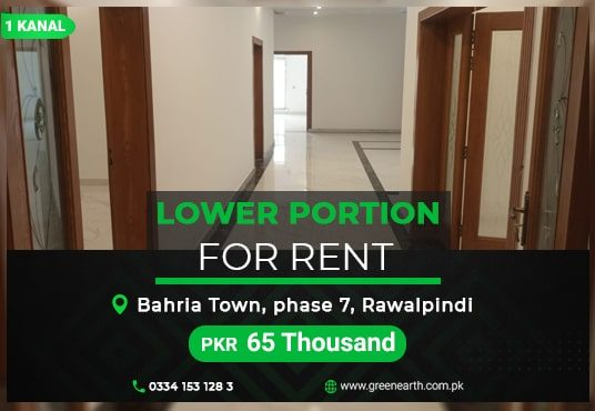 Kanal House for Rent Bahria Town Phase 7