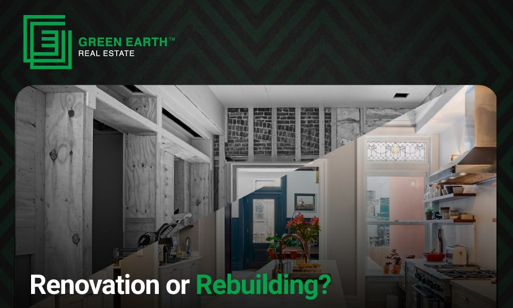Renovation and Rebuilding Your House