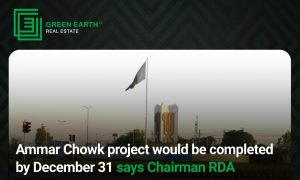 ammar chowk project completion